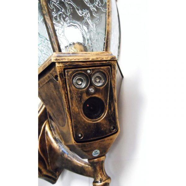 Slapta kamera lauko šviestuve su IR 850TVL