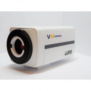 Aukštos raiškos BOX tipo IP kamera su D/N rėžimu 2.0Mpix