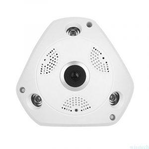 Aukštos raiškos (HD) 1.3Mpix panoraminė 360° IP kamera su PoE