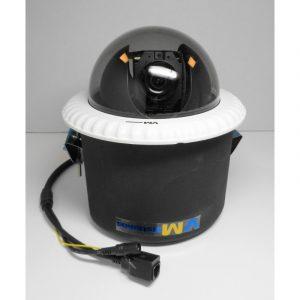 Aukštos raiškos (Full HD) valdoma vidinė kupolinė IP kamera