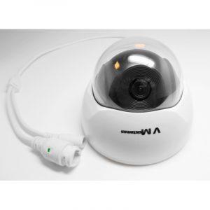Aukštos raiškos (HD) fiksuoto židinio kupolinė IP kamera 1.3Mpix