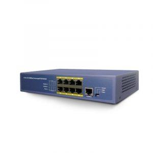 8 kanalų IP šakotuvas