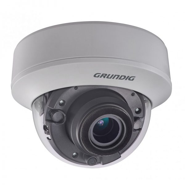 5 MP kupolinė HD-TVI kamera 2.8 - 12mm, motorizuotas objektyvas, PoC